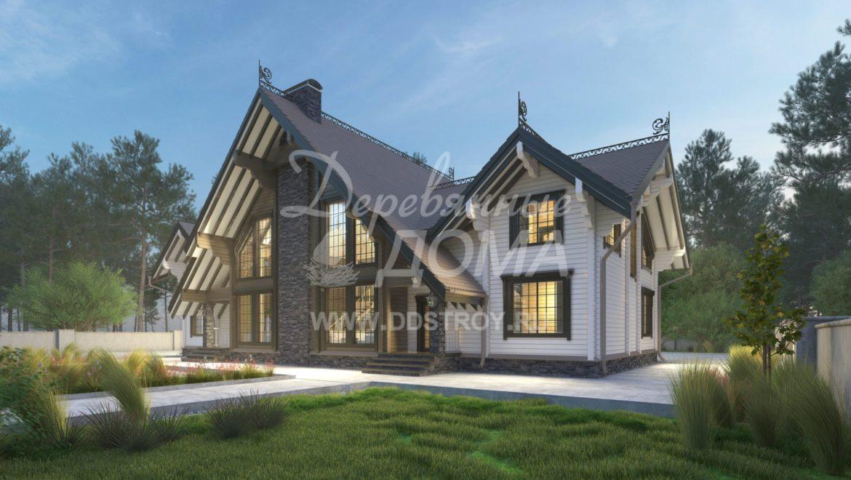 Дом «Лукоморье» — 620 м²