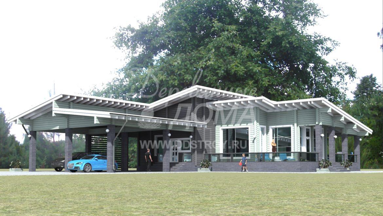 Начаты работы по проектированию жилого дома из клеенного бруса в д. Почевино(26.01.18)
