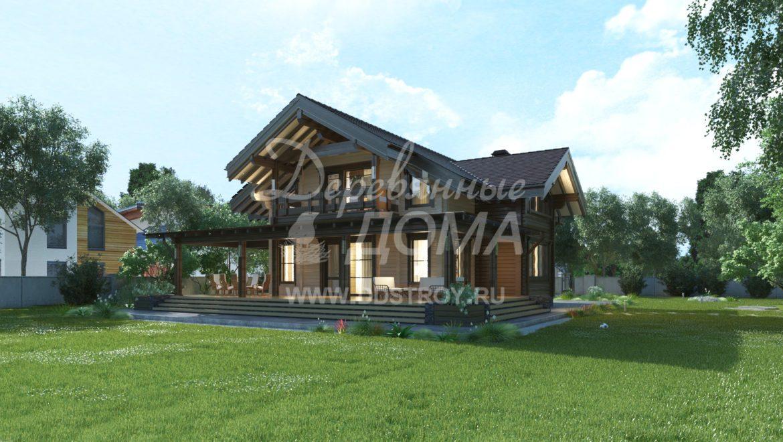 Завершены проектные работы жилого дома из клеенного бруса в д. Богданиха (25.01.2018)