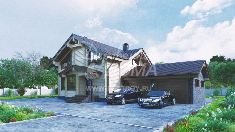 Дом «Тамань» — 284,17 м²