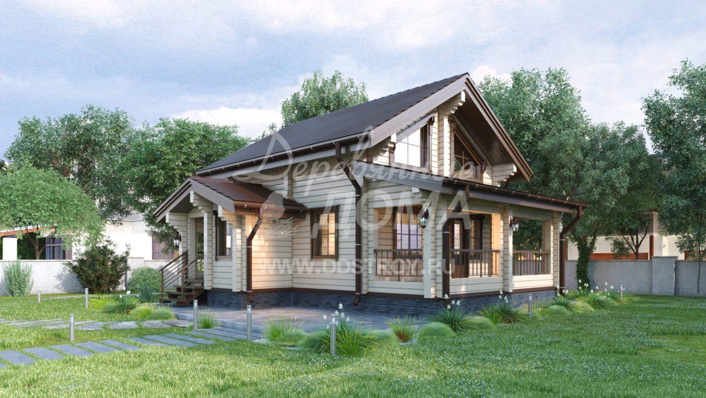 Дом «Ладога» — 101,85 м²