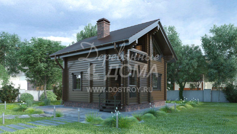 Дом «Орловка» — 79,43 м²