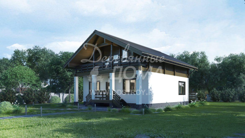 Дом «Каскад» — 222,59 м²