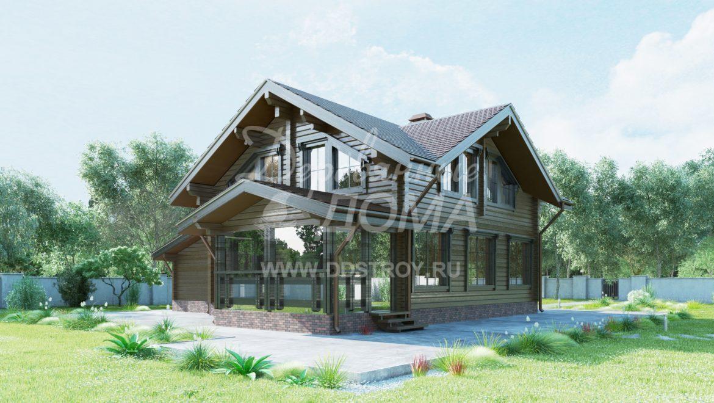 Дом «Тайга» — 198,47 м²