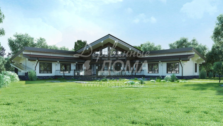 Дом «Комфорт» — 577,33 м²