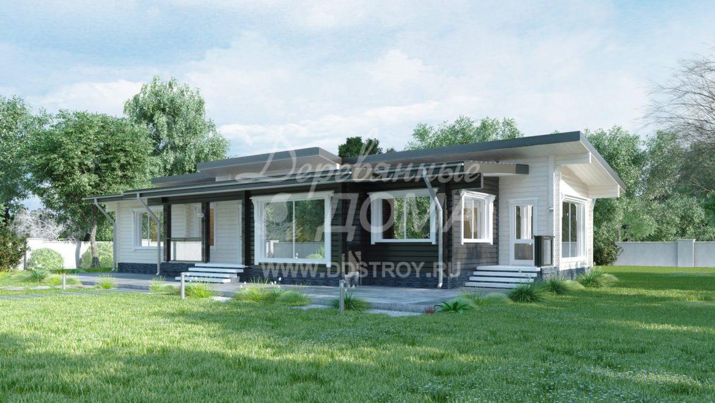 Дом «Калифорния» — 156 м²