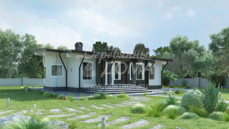 Дом «Каштан» — 143 м²