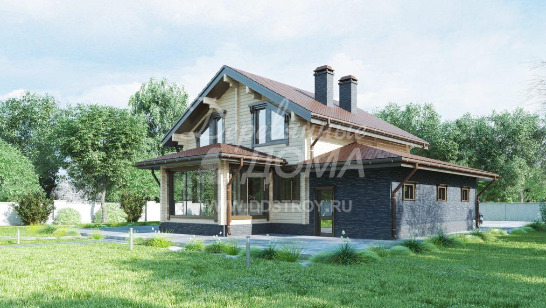 Дом «Бавария» — 223 м²