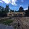 Продолжаются работы по возведению бани из оцилиндрованного бревна в д. Беляницы(21.06.2018)