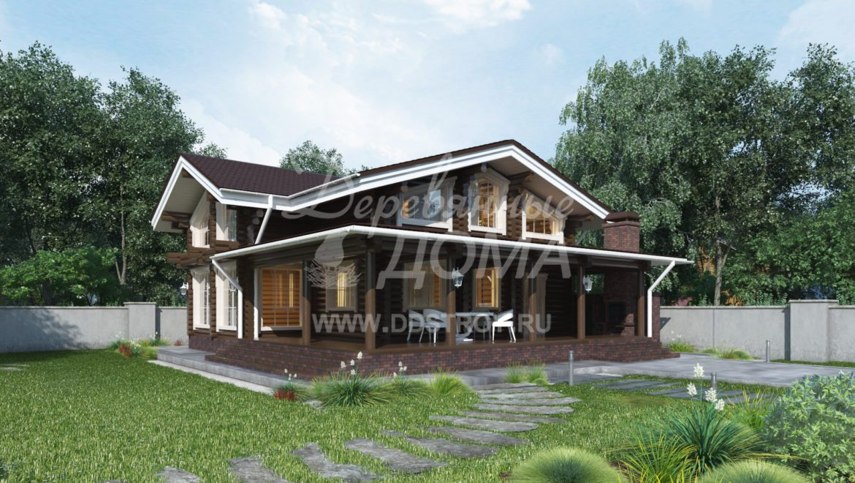 Дом «Роан» — 179 м²