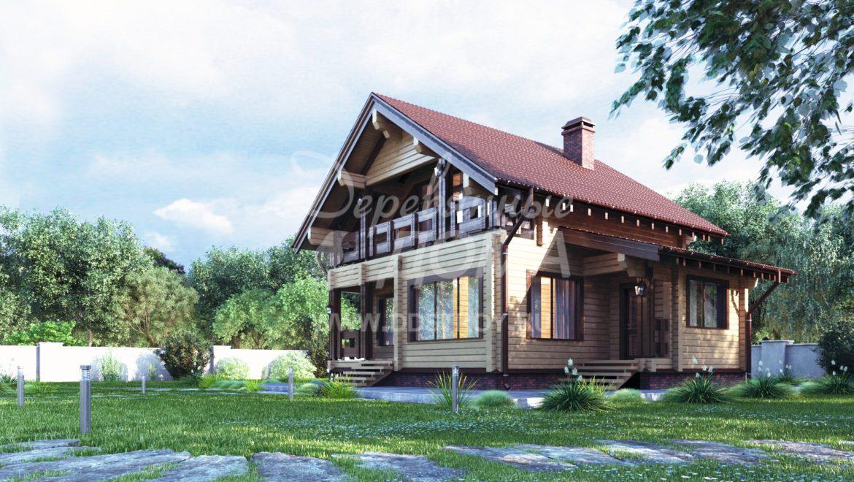 Дом «Ланс» — 117 м²