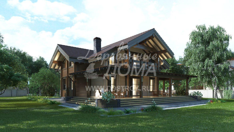 Дом «Довиль» — 328 м²