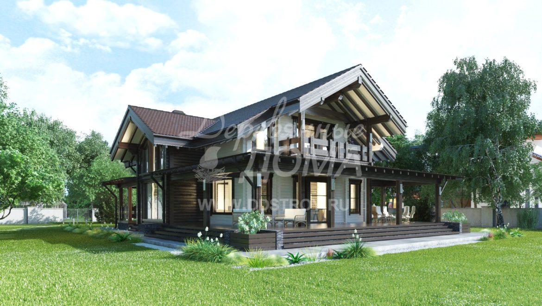 Дом «Камелия» — 356 м²