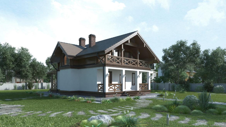 Дом «Тайга» — 212 м2