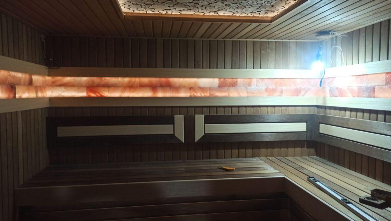 Завершены работы по отделке парной в бане в поселке Ново-Талицы (13.04.2021)