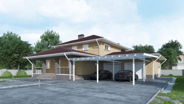 Устройство фундамента под жилой дом в коттеджном поселке «Изумруд», общей площадью 400 м2 (20.05.2021)