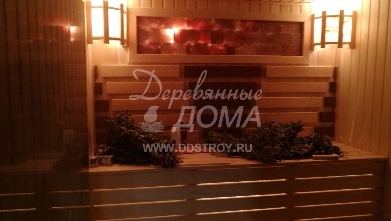 Продолжаются отделочные работы в бане д. Дегтярево (3.03.2018)