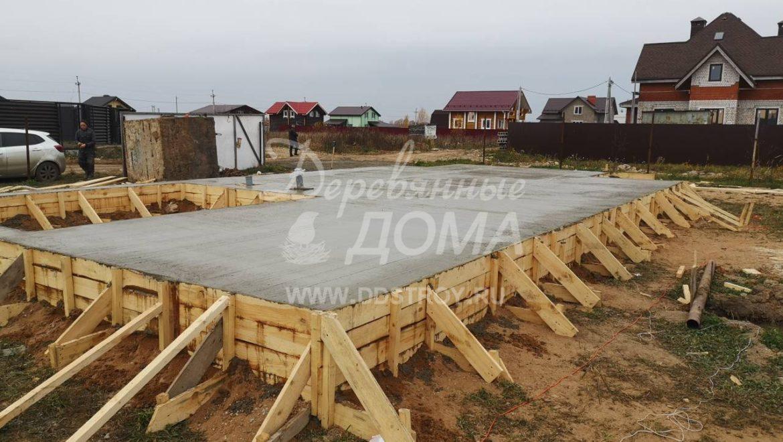 Устройство фундамента под строительство жилого дома в д. Дегтярево(19.10.2018)
