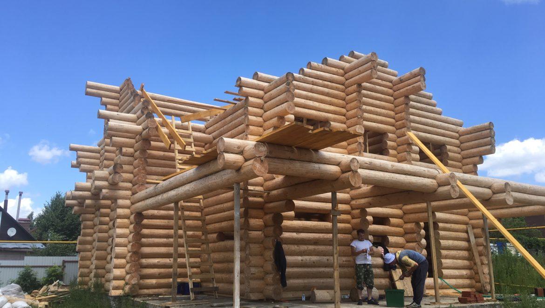 Завершена сборка деревянного комплекта в г. Иваново(ул.Трибунальная)