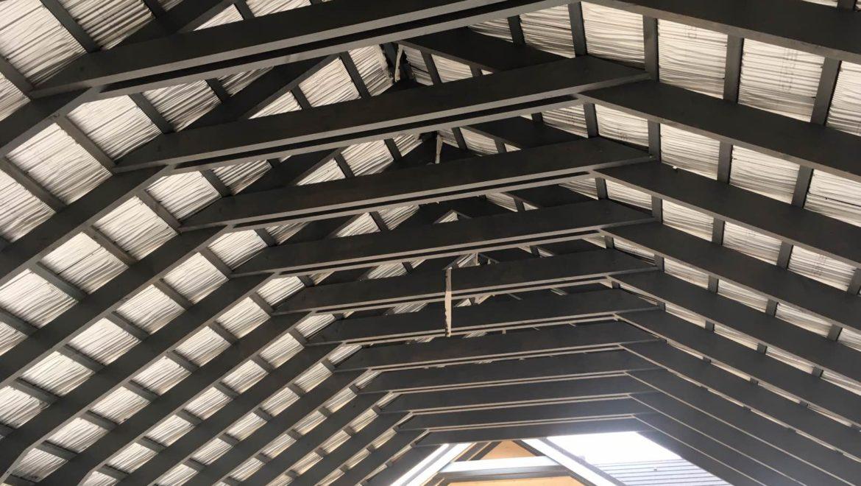 Продолжаются отделочные работы в комбинированном доме по проекту «Сидней» в п. Худынино (15.10.2020)
