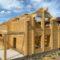 Завершена сборка деревянного комплекта жилого дома из клеенного бруса в м. Бухарово (21.07.2021)